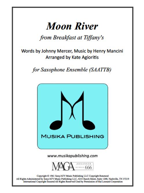 Moon River - Saxophone Ensemble