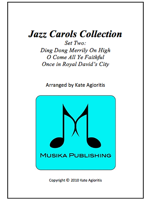 Jazz Carols Collection Set 2 - Saxophone Quartet