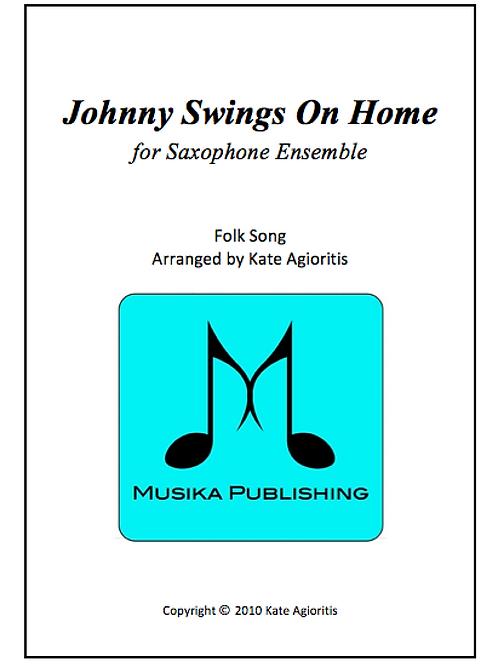 Johnny Swings On Home - Saxophone Ensemble