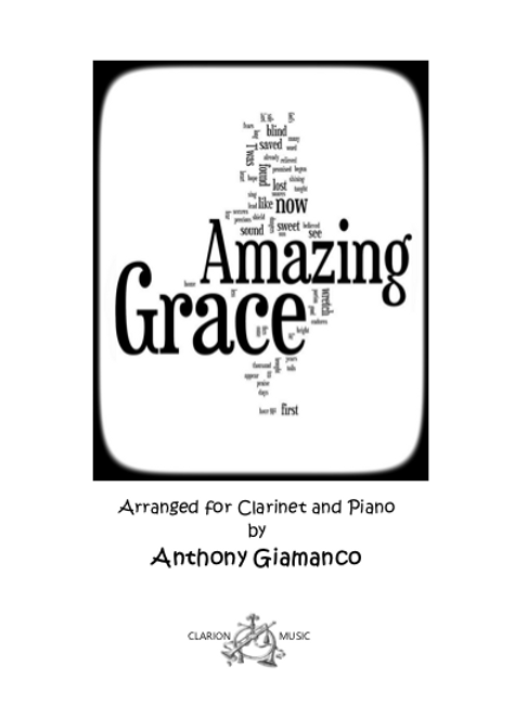 Amazing Grace - Clarinet and Piano