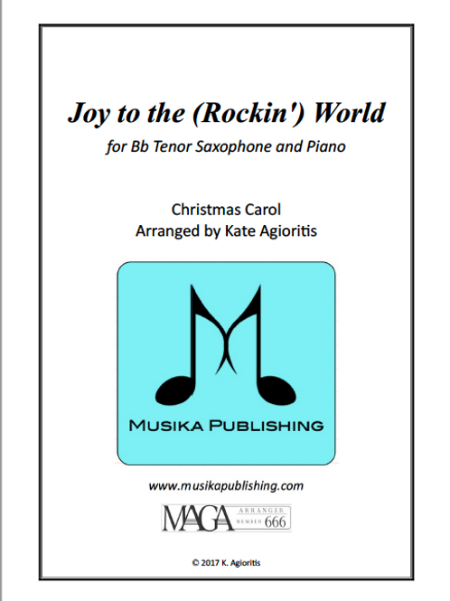 Joy to the (Rockin') World - Bb Tenor Saxophone and Piano