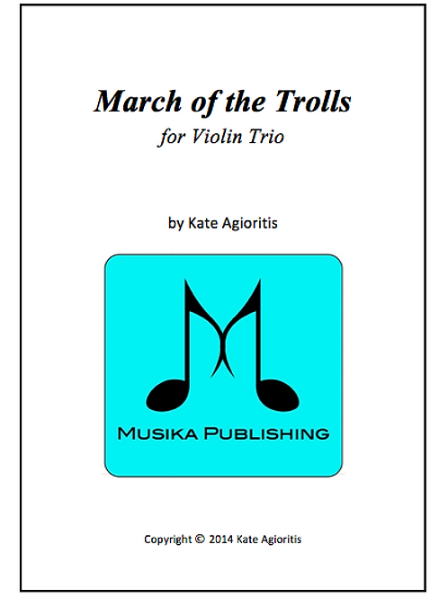 March of the Trolls - String Trio