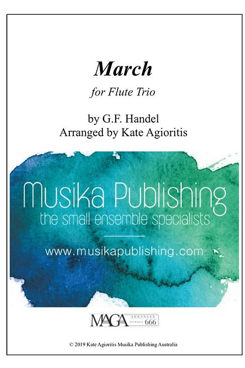 March - Flute Trio