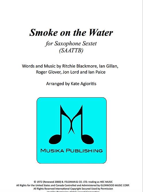 Smoke on the Water (Deep Purple) - Saxophone Ensemble