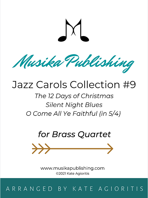 Jazz Carols Collection Set 9 - Brass Quartet