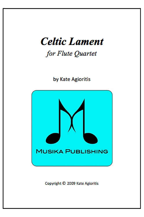 Celtic Lament - Flute Quartet