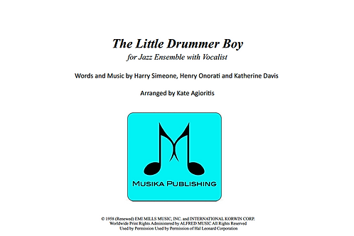 The Little Drummer Boy - Jazz Ensemble Vocal Feature