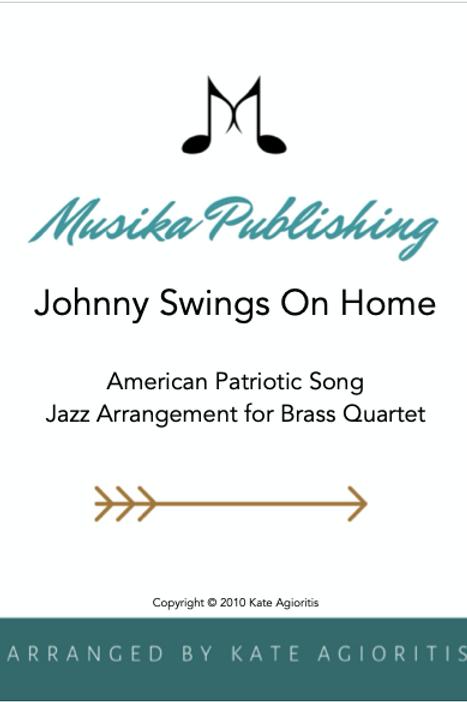 Johnny Swings On Home - Brass Quartet