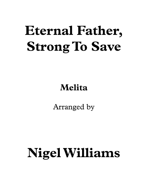 Eternal Father Strong To Save - Trumpet and Organ