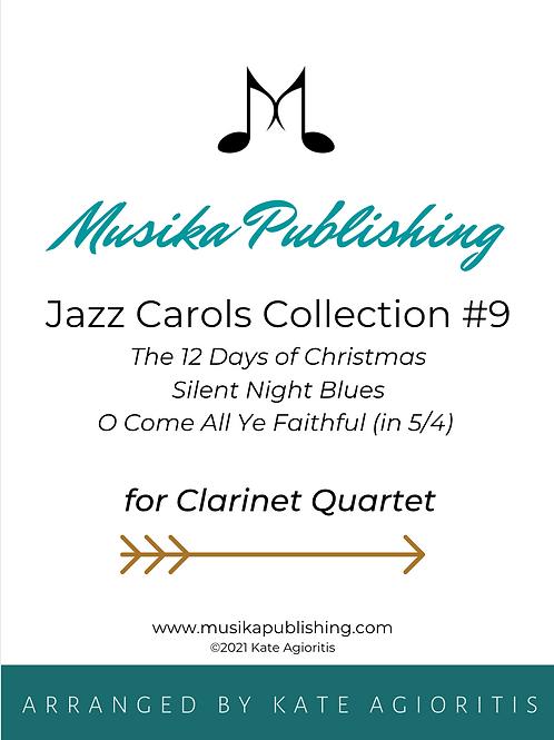 Jazz Carols Collection Set 9 - Clarinet Quartet
