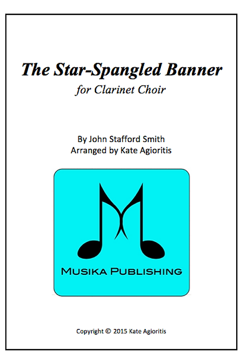 The Star-Spangled Banner - Clarinet Choir