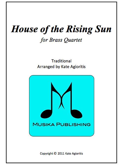 House of the Rising Sun - Brass Quartet