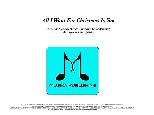 All I Want For Christmas Is You - Jazz Ensemble Vocal Feature