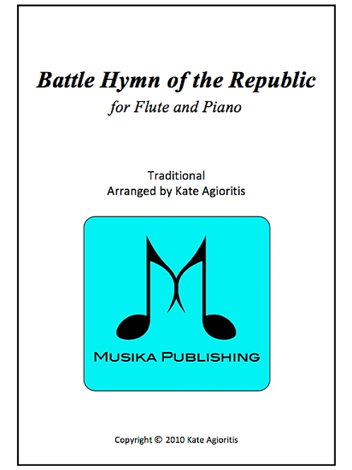 Battle Hymn of the Republic (Jazz) - Flute and Piano