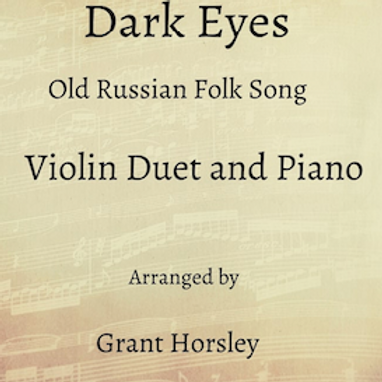 Dark Eyes - Violin Duet with Piano