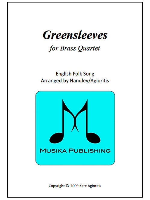 Greensleeves (What Child Is This) - Brass Quartet