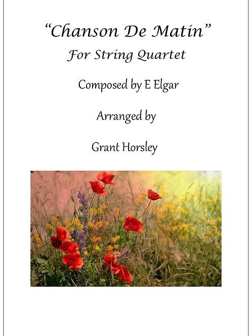 Chanson de Matin - String Quartet