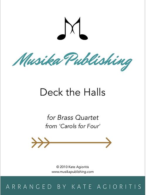 Deck the Halls - Brass Quartet