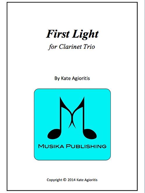 First Light - Clarinet Trio