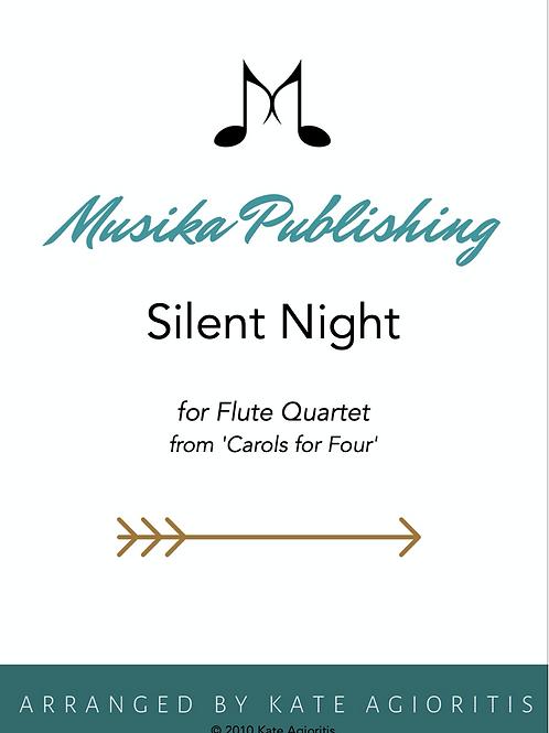 Silent Night - Flute Quartet