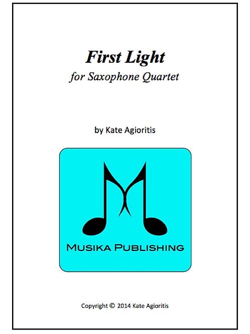 First Light - Saxophone Quartet