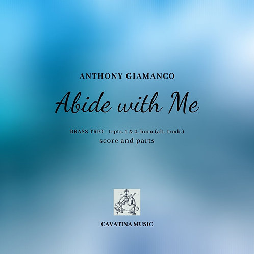 Abide With Me -Brass Trio