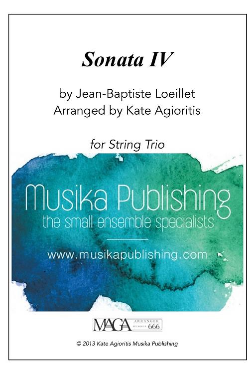 Sonata IV - String Trio
