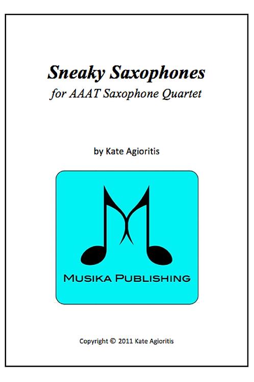 Sneaky Saxophones - Saxophone Quartet (AAAT)