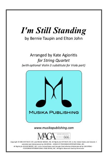 I'm Still Standing - String Quartet