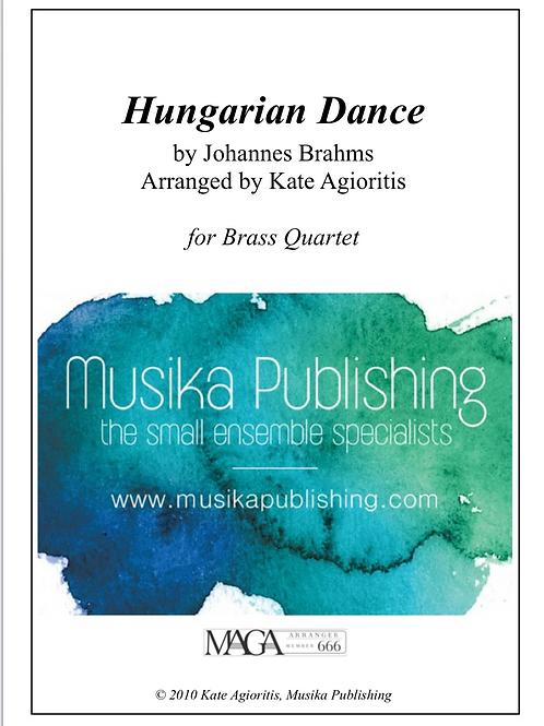 Hungarian Dance (Jazz) - Brass Quartet