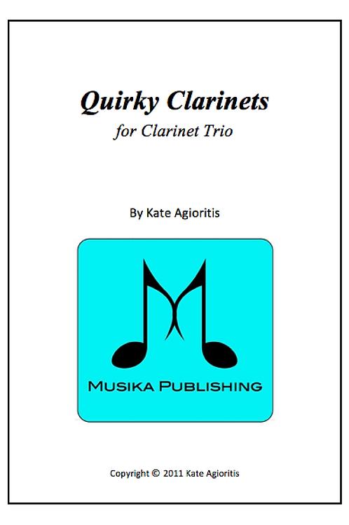 Quirky Clarinets - Clarinet Trio