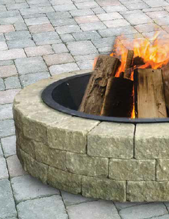 Fire Pit Ring (Quick Wall)