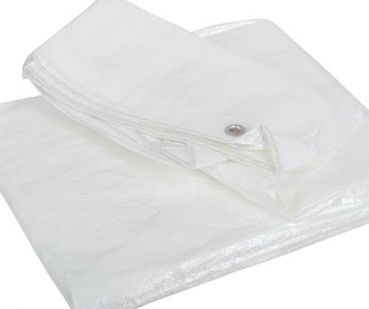 Poly Tarp 8'x10' (white)