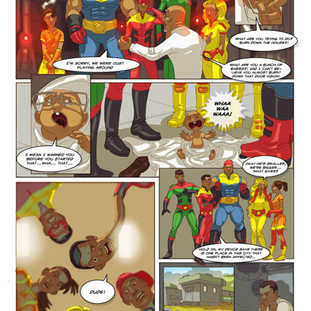 Indomitables Comic 2013