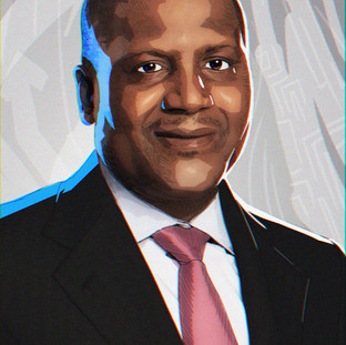 Dangote Digital Portrait