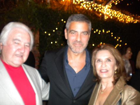 Clooney & us.JPG