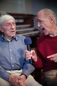 Ken and Bob singing together