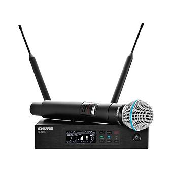 Аренда-радиомикрофона-shure-qlxd-beta58.