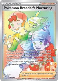 Pokemon Breeder's Nurturing (Secret) 195/189