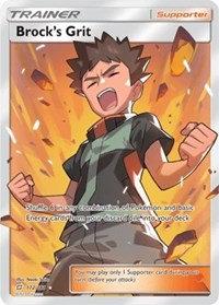 Brock's Grit (Full Art) 172/181