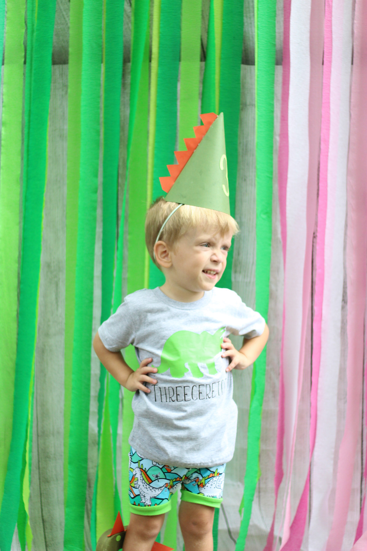 Dinosaur Birthday Outfit