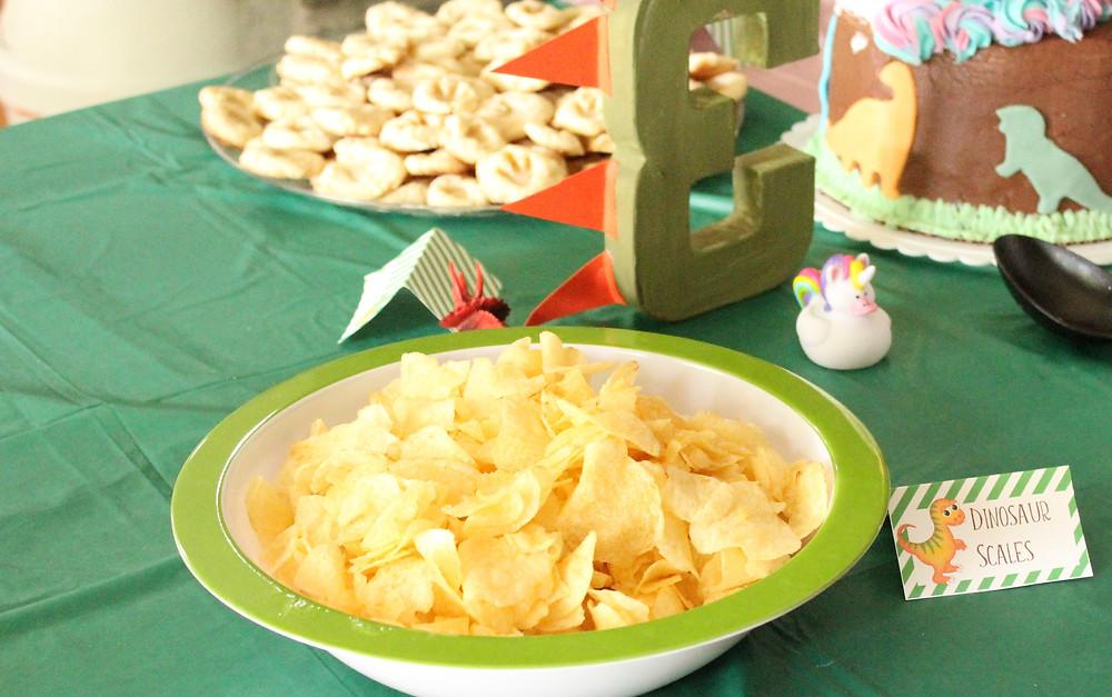 Dinosaur Birthday Party Decor