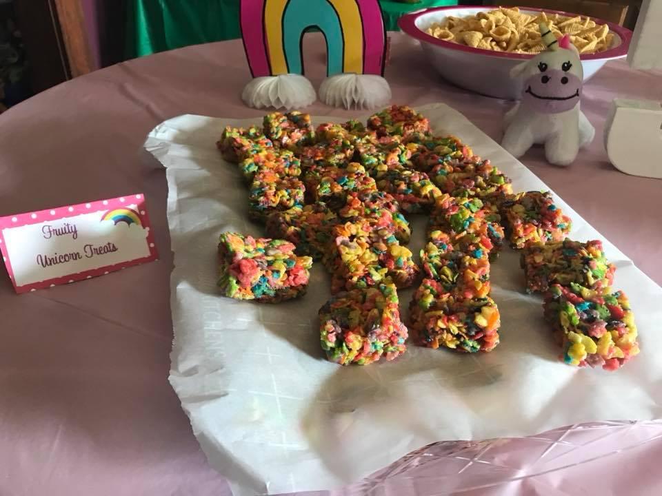 Rainbow Treats, Unicorn Party, Party Food, Birthday Party Decor