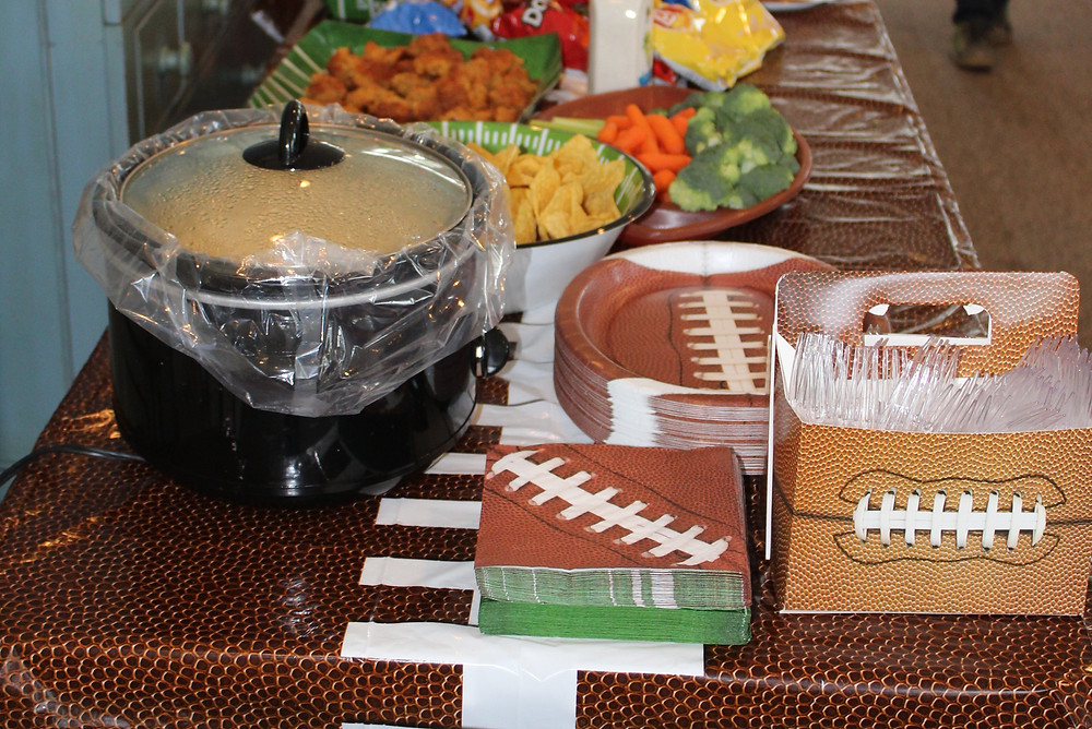 Football Party, Football Party food, Super Bowl Party food, Party Food, Football birthday