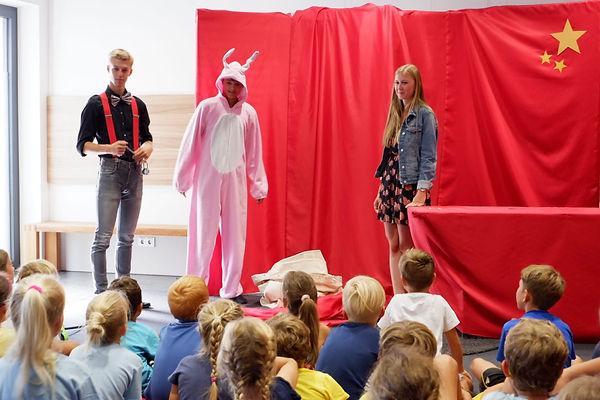Kinderzaubrei bei einem Event in einem Kindergarten