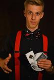 Kartenfächer mit Ass