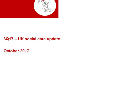 Welcome to 3Q17's UK social care update from HeadWindsCare
