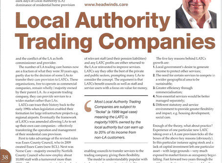 Local Authority Trading Companies - a summary