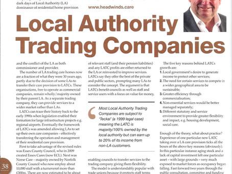 Local Authority Trading Companies - a summary