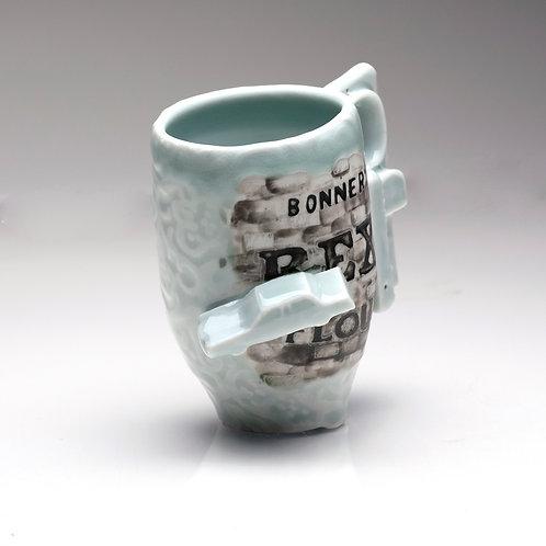 Coffee Cup / Historic Rex Flour, MT.